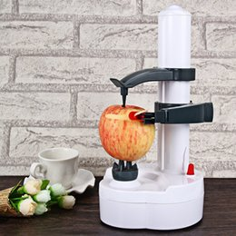 Wholesale peel fruit machine - Automatic Electric Peeler Drop Shiping Multifunction Stainless Steel Vegetables Fruit Apple Peeling kitchen fruit Automatic Peeler Machine