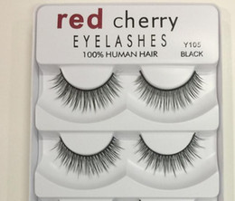 natural professional makeup Promo Codes - In Stock!! Red Cherry False eyelashes 5 pairs pack 8 Styles A11 Eyelash Natural Long Professional makeup Big eyes High Quality