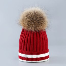 10 Colors Polyster Pom Pom Stripe Winter Hats Weaven Beanie Gorras Luxury  Cap Fitted Hat Luxury Polo Hats Skull Caps Bucket Hats. Supplier  ficoco cc2865b95722
