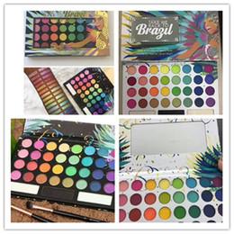 Sombras de ojos negras online-HOT beautNew Arrival Hot Makeup Palette 35Colors eye shadow LLEVAR A BRASIL EyeShadow Palette Black Edition