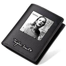 Porte-monnaie Taylor Swift Porte-monnaie Pop Star Porte-monnaie Singer court en cuir pour homme Porte-monnaie Loose Burse Porte-cartes ? partir de fabricateur