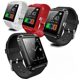 наручные часы для телефона Скидка Bluetooth U8 SmartWatch наручные часы с сенсорным экраном для iPhone 7 Samsung S8 Android телефон спальный монитор Smart Watch с розничной упаковке