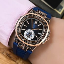Wholesale Complete Machinery - Europe and the United States top luxury brand AAA rose gold men's calendar watch parrot series automatic machinery 43mm waterproof classic n