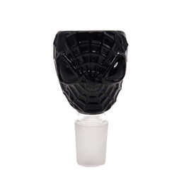 Wholesale burner nozzle - Black Parker Shape length 72mm 2.83inches Oil Burner mouthpiece glass nozzle fittings claw male joint glass bowl for bongs water pipe