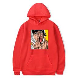 Hip hop street mens ropa online-hip hop sudadera con capucha Lil Xan Xanarchy Street sudadera con capucha hombres mujeres chaqueta abrigo Sports Designer Mens ropa talla XXS-4XL