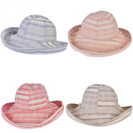 4 Colors Women Sun Protection Beach Caps Outdoor Portable Fresh Two Sides  Wear Female Hat For Traveling Camping d1f039461e88