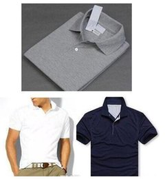 Wholesale United States Polo - Wholesale high quality brand Polo shirt men short sleeve lap polo Tomm, Ralph shirt Europe and the United States ePacke free shipping