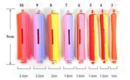 Wholesale Magic Perm - Professional Perming Rods Hair Tools Sizes 10mm24mm Curling Hairdressing Free Shipping