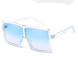 Surdimensionné Carré lunettes de Soleil pour Femmes Vintage Marque Designer  Dégradé Lentilles Shades Mesdames Lunettes de Soleil Hommes Grand Noir  Cadre ... eaf3e6acf193