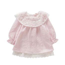 2019 vestidos de bebé blancos rojos Baby Girls Clothing 0-2Y recién nacido bordado vestido de algodón infantil bebé vestido de navidad para niñas ropa de moda rojo rosa blanco rebajas vestidos de bebé blancos rojos