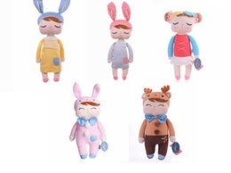 Wholesale Cute New Doll - Metoo Plush Doll 30-32CM Cute Angela Bunny Rabbit Plush Stuffed Toy Girls Lovely Gift 1PCS