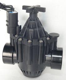 steuerventil für wasser Rabatt Garten bewässert automatische Steuerung Zubehör 200P 2 Zoll Globe / Eckventil von ZW (Zanchen) 24V AC