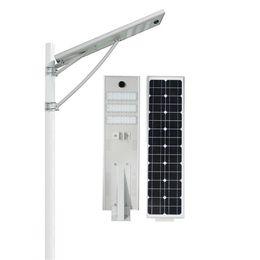 luci impermeabili esterne Sconti Luce stradale solare da 20W 30W 50W LED Esterna Impermeabile IP66 Design integrato Sensore radar Sensore PIR Luce intelligente