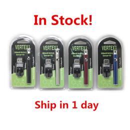 Vv stylos en Ligne-Vertex Co2 VV Kits de batterie de préchauffage Vapeur de lubrification de batterie LO2 de CO2 O Pen 510 Vape de préchauffage de batteries Vapeur de préchauffage 350mah BOGO Ce3 Cartridge Puff