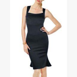 kleider breiten hüften Rabatt Sommerfrauenkleid Schwarz-weißer neuer sexy Taschenhüfte-Rock dünnes Nachtklub-Partei-Kleid-breiter Bügel elegant