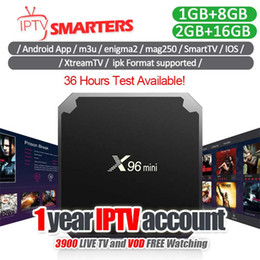 Android-tv-box portugal online-1 Jahr Portugal IPTV-Abonnement mit Europa FR UK Italien Spanien Portugal Live-TV-Kanal mit Smart TV X96 Mini-Android-Boxen
