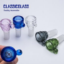 2019 Diamond Thick Bowl Piece Bong Glass Slide Water Pipes