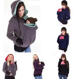 chaqueta de invierno mujeres embarazadas Rebajas Invierno otoño mujer portadora de bebé chaqueta con capucha de maternidad prendas de abrigo para embarazadas engrosadas embarazo bebé vistiendo abrigo