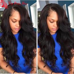 Wholesale Side U Part Wig - U Part Wig Wavy Right Side Virgin Malaysian Hair U Part Wig Human Hair Glueless u Part Human Hair Wigs For Black Women
