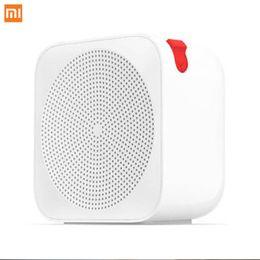 Original Xiaomi Internet Radio 2.4G Wifi Music Clock Built Bluetooth V4.2 Portable Speaker Radio for Smart Phone APP Control cheap speaker internet radio от Поставщики диктофон интернет-радио
