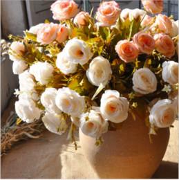 Rabatt Goldene Kunstliche Blumen 2018 Kunstliche Hochzeit Blumen
