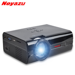 Wholesale Mini Projector Lumens Led - Noyazu BL15 Android 6.0 Mini LED LCD projector For Home Theater projectors 1500Lumens HDMI\AV\VGA\USB\SD FULL HD 1080P Optional