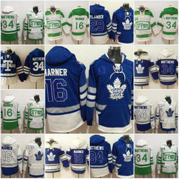 xl 16 felpe felpe Sconti Men's 16 Mitch Marner Toronto Maple Leafs Jersey 29 William Nylander 34 AustonMatthews Felpe Pullover Felpe