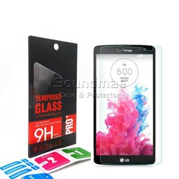 Wholesale Screen L9 - 9H 0.26mm 2.5D Arc Edge Explosion Proof Anti-Scratch Tempered Glass Screen Protector For LG Aristo 2 LV3 2018 V30+ X Venture With Retail Box