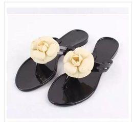 2019 decore sandálias Frete Grátis 2018 nova Europa e EUA verão legal chinelos nova moda arco sandálias sandálias de praia decorado com flores decore sandálias barato