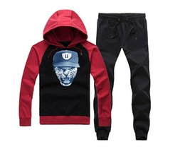 Wholesale Unkut Clothing - Men hip hop clothing unkut set hoodie +pants sweatshirt pullover casual streetwear sportswear male famous brand Rock hoody sweats 01
