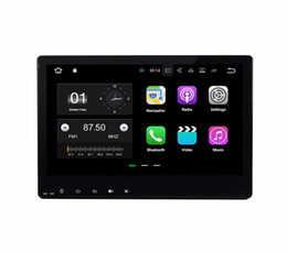 Wholesale mp3 bluetooth mirror - Android 7.1 Quad Core Car DVD Car Radio GPS Multimedia Player for Honda HRV HR-V VEZEL 2015 2016 With 2GB RAM Bluetooth WIFI Mirror-link