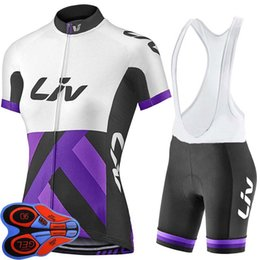 liv cycling jerseys Coupons - 2018 LIV woman NEW Anti UV Short Sleeve Cycling Sets Clothes Jerseys Bib Shorts Bike Ropa Ciclismo Bicycle Jersey