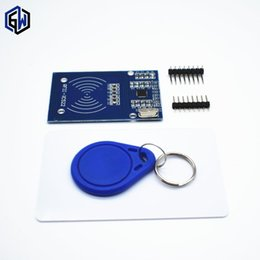 Wholesale Robot Arduino - 1 set TENSTAR ROBOT RFID module RC522 Kits 13.56 Mhz 6cm With Tags SPI Write & Read for arduino uno 2560