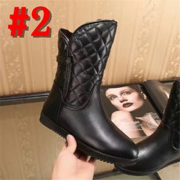 bb7c8350737528 Discount thanksgiving plus size tops - top brand Women Snow Boots 100%  Genuine Leather Boots