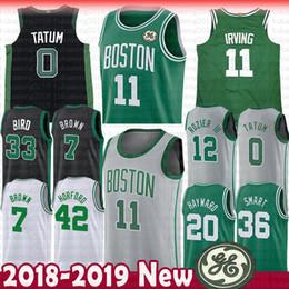 Boston 11 Kyrie Irving Celtics 7 Jaylen Brown Jersey 0 Jayson Tatum 12 Terry Rozier 33 Larry Bird 20 Gordon Hayward 36 Smart 42 Al Horford