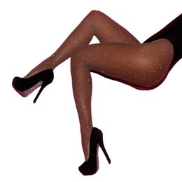 a2426e0a218 Chinese Fashion Women s Crystal Rhinestone Fishnet Elastic Stockings Fish  Net Tights Pantyhose sexy Stockings manufacturers