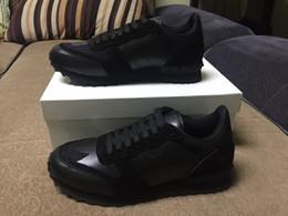 Alta qualità Camouflage coppie scarpe da uomo in pelle casual scarpe a punta rivetti scarpe da tennis economici scarpe casual per donna 35-46 da