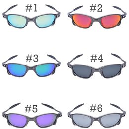 Wholesale Sunglasses Metal Cycling - Men Romeo Cycling Glasses Polarized Aolly Juliet X Metal Riding Sunglasses Goggles Brand Designer Oculos Free Shipping