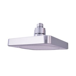 """Wholesale shower ceiling mount - 1PCS New 6"""" Square Bathroom LED Rain Top Shower Head 7 Colors Automatic Changing With Wall Mounted Or Ceiling Shower Mounted"""