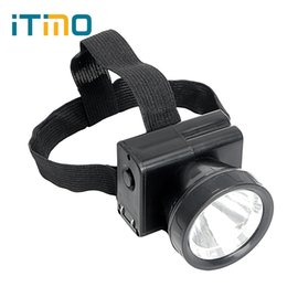 Wholesale Emergency Headlights - iTimo Headlamps 2 Mode Portable Lighting Rechargeable LED Headlight Emergency Lamp For Hunting Hiking Camping Torch Night Light