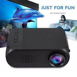 YG320 HD Mini LED Projektör USB Ev Sineması Multimedya Oynatıcı Desteği HDMI TV Medya Film Oyuncular Beamer Taşınabilir Sinema Şarjlı nereden
