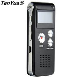 Reproductor de mp3 digital portátil online-TenYua Mini Grabadora de Voz Digital Portátil 8gb MP3 Dictáfono para Teléfono Usb Flash Drive Pendrive Pen con Reproductor de Audio