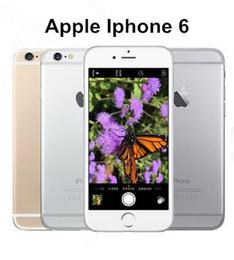 Wholesale Dual Core Gsm - Original Unlocked Apple iPhone 6 6 plus without fingerprint Cell Phones 4.7'IPS 2GB RAM 16 64 128GB ROM GSM WCDMA LTE refurbished Phone