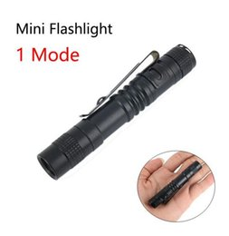 Wholesale Pen Drive White - LED Flashlight outdoor Pen Light 1 Mode Lantern Portable Mini LED Flashlight Torch 300LM Outdoor Waterproof Camping Lamp for AAA battery