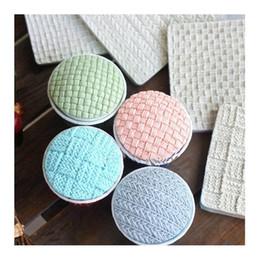 Wholesale gum paste cake - Sugarcraft knitting silicone cake mold baby fondant mold cake decorating tools gum paste cupcake soap mould