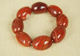 Natürliche authentische jade alte Grube Seide South red Achat Frauen Armbänder Perlen Armbänder und Spacer Armbänder Großhandel von Fabrikanten
