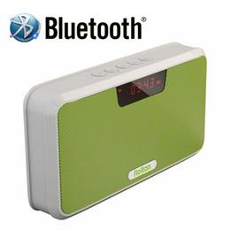 alto-falantes de rádio ds Desconto Rolton E300 Bluetooth Speaker Multi-Funcional Suporte de Alto-Falante Sem Fio Portátil de mãos-livres Telefonema Com Banco de Potência, Rádio FM