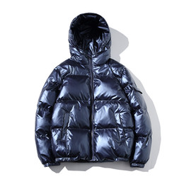 korean warm jacket Promo Codes - 2018 Men Jacket Coats Thicken Warm Winter Jackets Male Parka Hooded Outwear Cotton-padded Jacket korean fashion man clothes 5XL