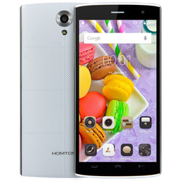 Wholesale 3g Android Gestures - HOMTOM HT7 5.5 inch 3G Smartphone Android 5.1 MTK6580 Quad Core 8GB ROM Dual Cameras GPS Smart Gestures
