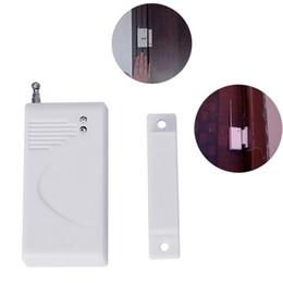 Canada Prix de gros 433 MHz Fréquence Sans Fil Batterie Porte Capteur De Fenêtre Sécurité Accueil Alarme Accessoires Pour GSM Antivol Panneau D'alarme Offre